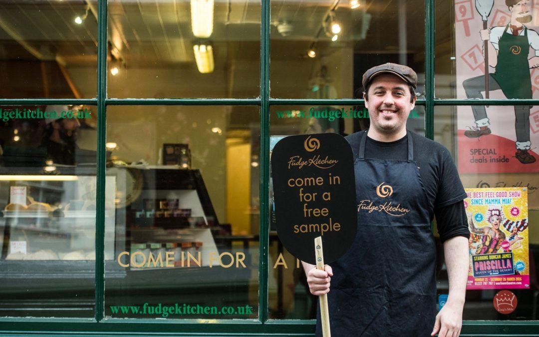 A visit to Fudge Kitchen in Canterbury