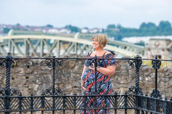 Pregnancy photoshoot in Rochester